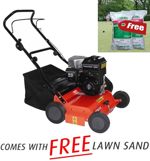 Spring Lawn Care – Scarifying for Spring – Dori Scarifier with FREE Lawn Sand