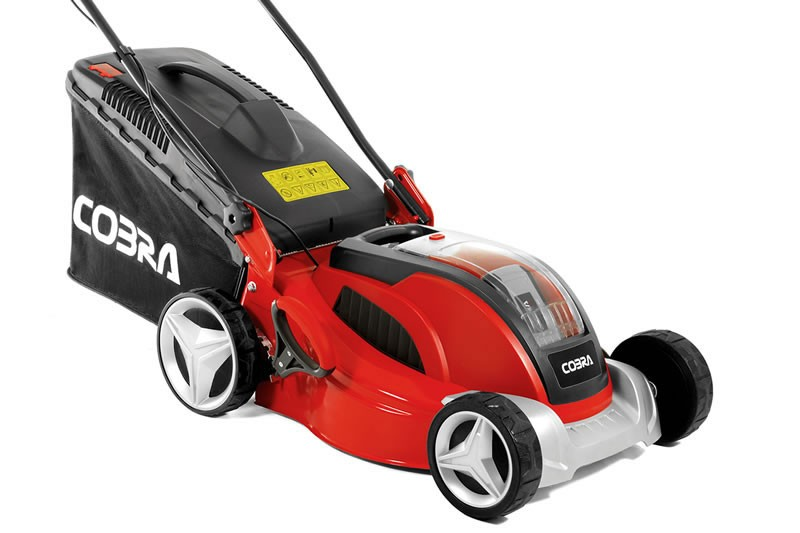 3 Great Cobra Battery Powered Cordless Lawn Mowers