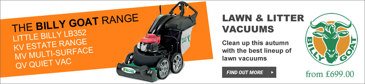 Find the Best Deals on Billy Goat Leaf & Litter Lawn Vacuums