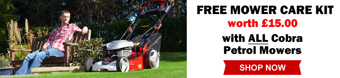 Cobra Lawn Mower Offer Banner