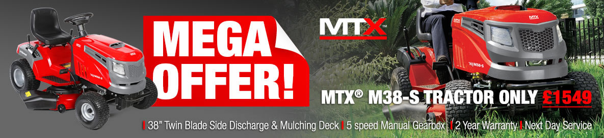 Best deals on Mitox MTX side discharge garden tractors
