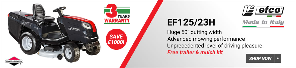 EFCO EF125/23H with free cover
