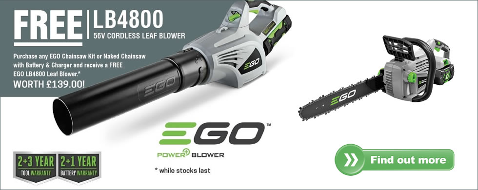 Ego Free blower offer