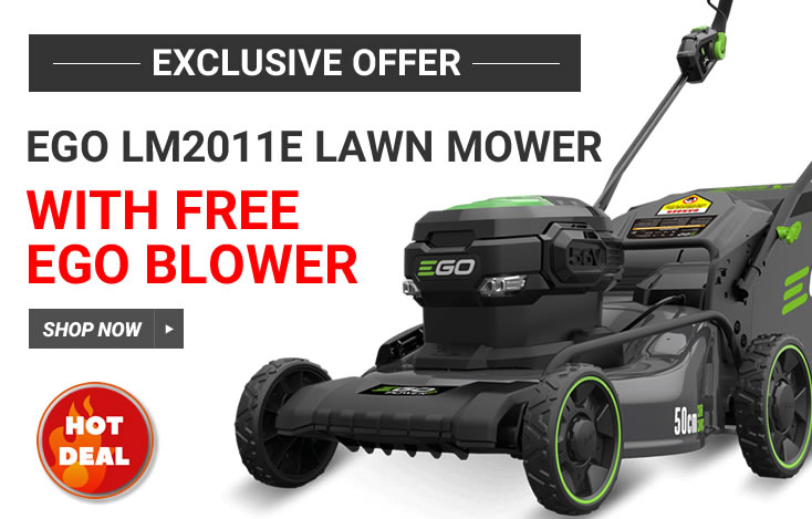 Free Ego blower offer