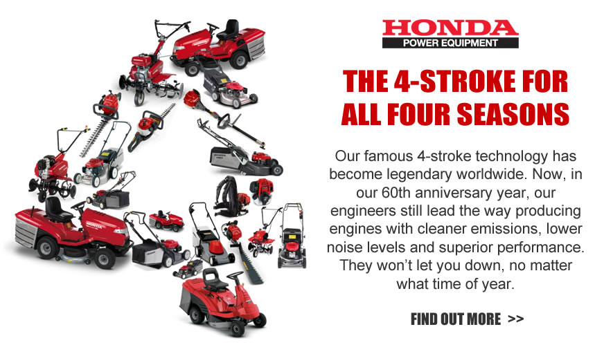 Honda 4-stroke - for all seasons