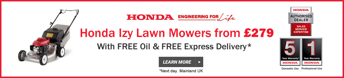 Honda Izy Mowers from £295