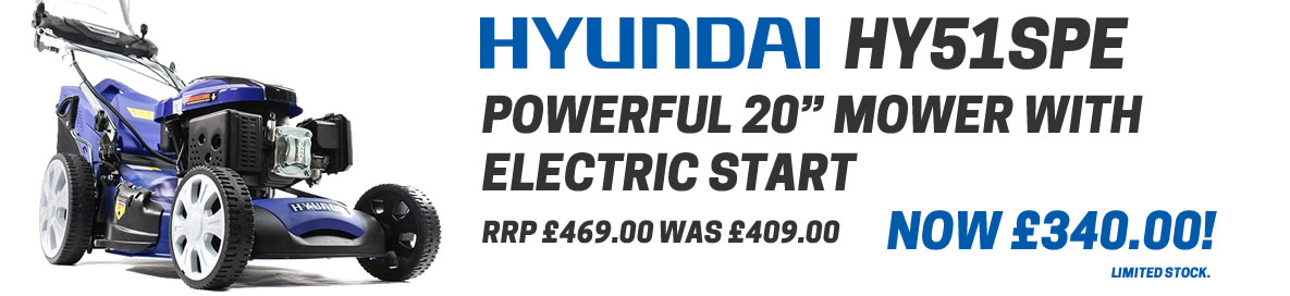Hyundai HYM51SPE mower special offer