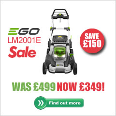 Ego LM2001E mower sale