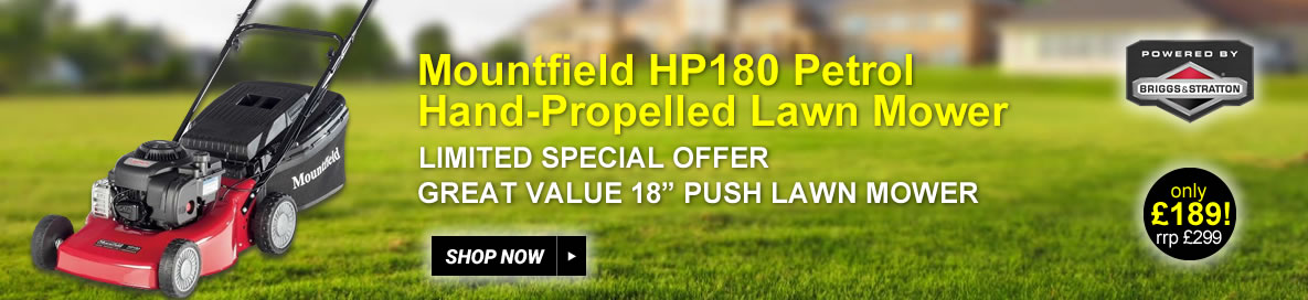 Mountfield HP180 lawnmower offer