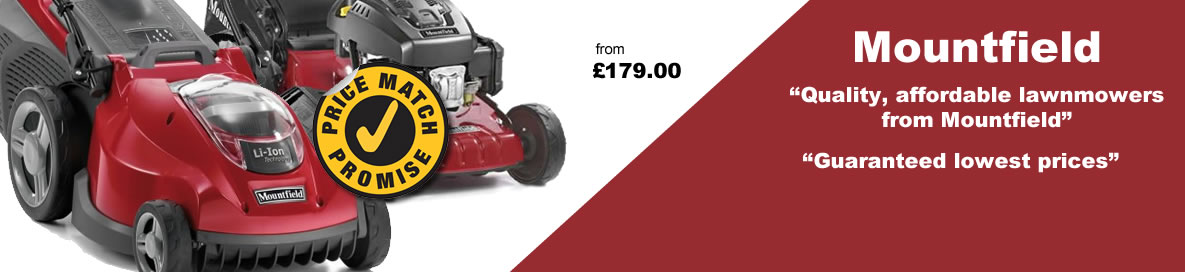 Mountfield: quality, affordable lawn mowers from Mountfield. Guaranteed lowest prices.