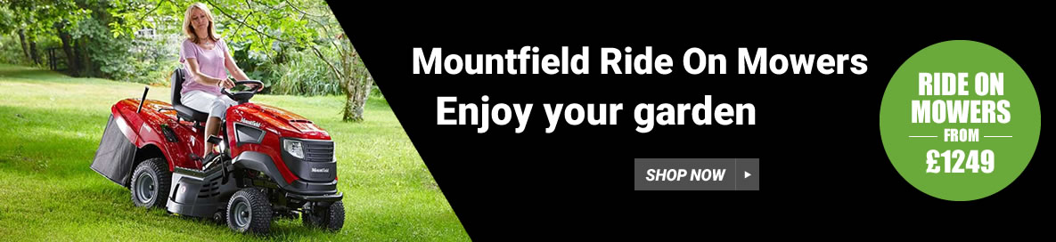 Mountfield Ride On Mowers Banner