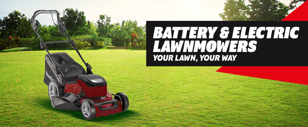 Mountfield electric & cordless mowers sale