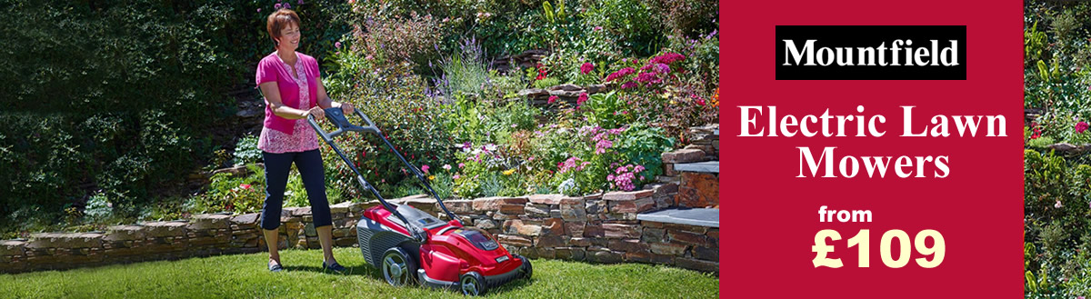 Mountfield Princess Electric Lawn Mowers