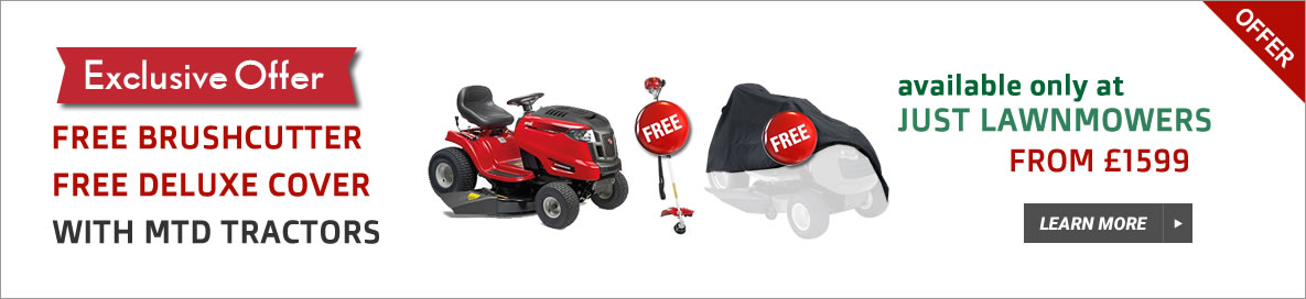 MTD Lawn Tractor offer banner