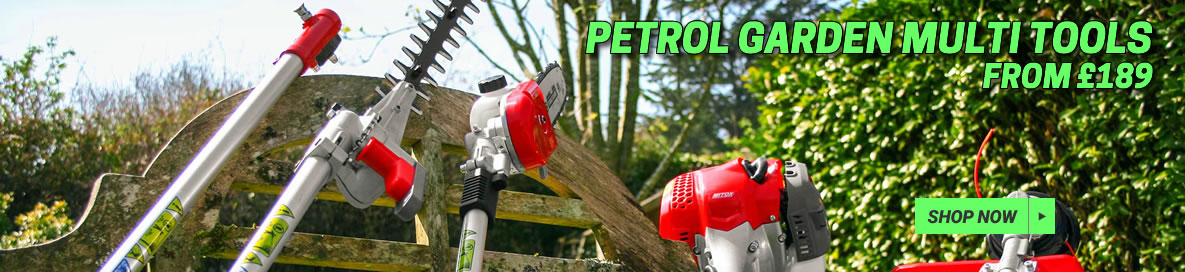 Petrol Garden Multi Tools from £189