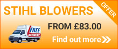 Stihl Blowers on sale now!