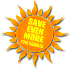 Our garden machinery SUMMER SALE now on